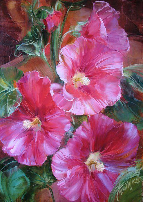 . . . by Anna Homchik, Ukrainian still life painter