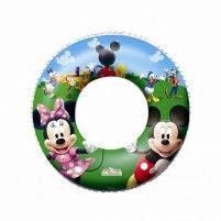 Kruh Bestway Mickey Mouse a Minnie - nafukovací, průměr 56 cm