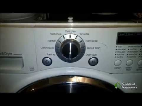 LG Washer & Dryer Repair (Remove Lint) - Part 2 - YouTube