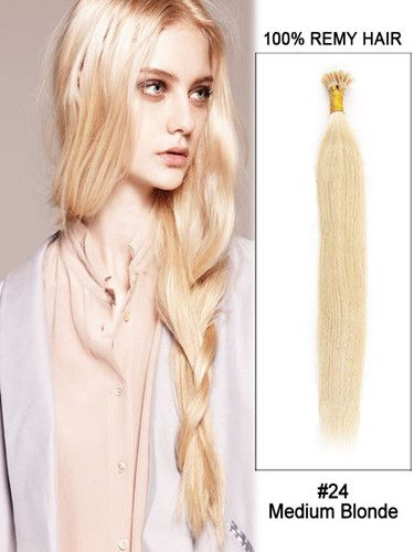 18 best hair extensions images on pinterest hair extention hair designer outlet wonderful length 34 inch medium blonde straight stick i tip brazilian remy hair keratin hair extensions online mall pmusecretfo Choice Image