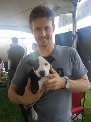 Will estes and a puppy!!!  Life can be so good