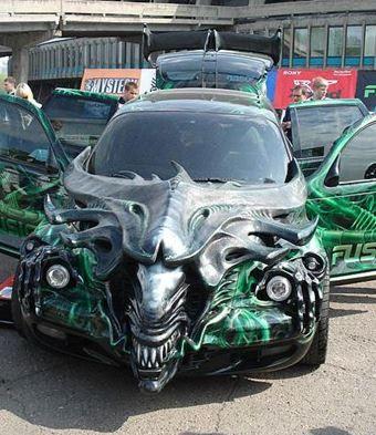transformation incroyable dun vhicule pour halloween halloween voiture vehicule