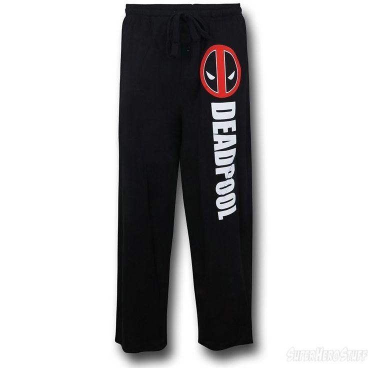 Images of Deadpool Logo Sleep Pants