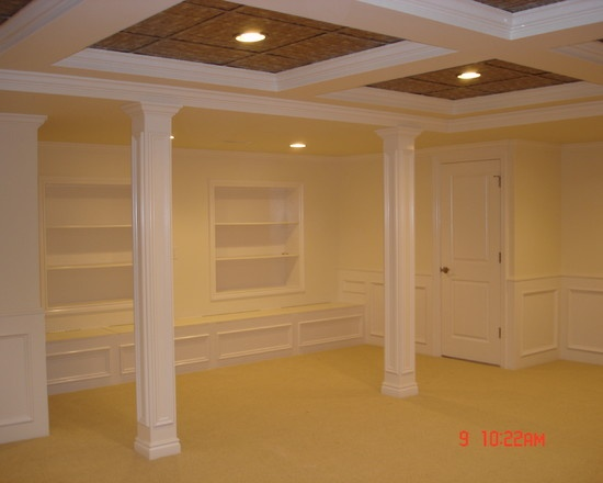 Traditional basement low ceiling basements design pictures remodel decor and ideas page 6 - Finish my basement ideas ...