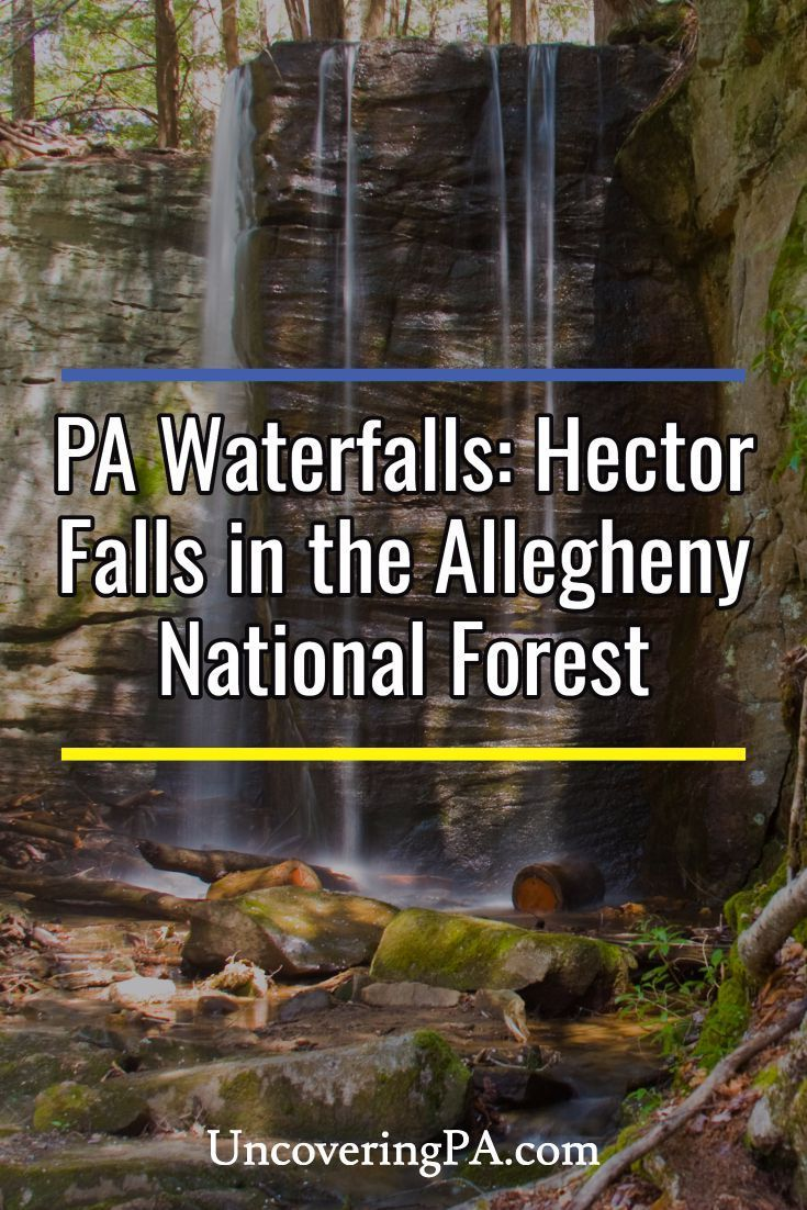 Pennsylvania Waterfalls How to Get to Hector