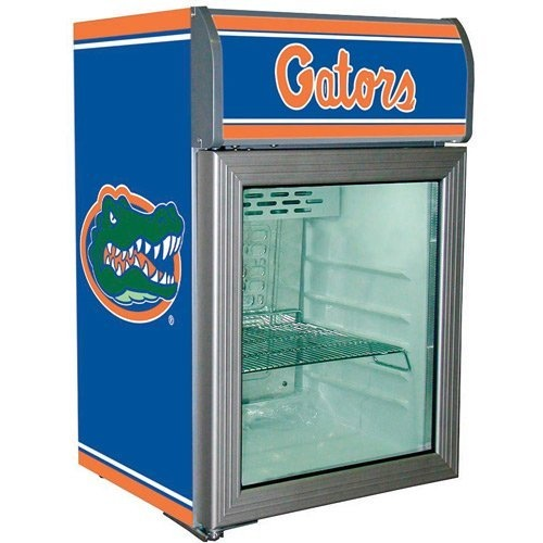 Florida Gators Glass Door Refrigerator
