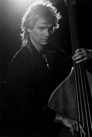 Sting - born Gordon Sumner, was co-founder, bassist, and lead singer for London pop reggae trio, the Police. After 5 albums, and becoming the most popular band in the world, they split in 1983. With a very recognizable voice, he was able to sustain considerable popularity as a vibrant solo artist while mixing elements of jazz and world music rhythms into his sound.