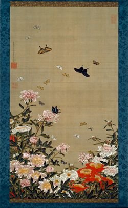 Exhibit of Ito Jakuchu's scrolls from the Japanese Imperial Household at the National Gallery of Art through April 28