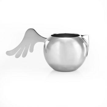 "Milk jug ""Wings"" by Holly Birkby for Carrol Boyes."