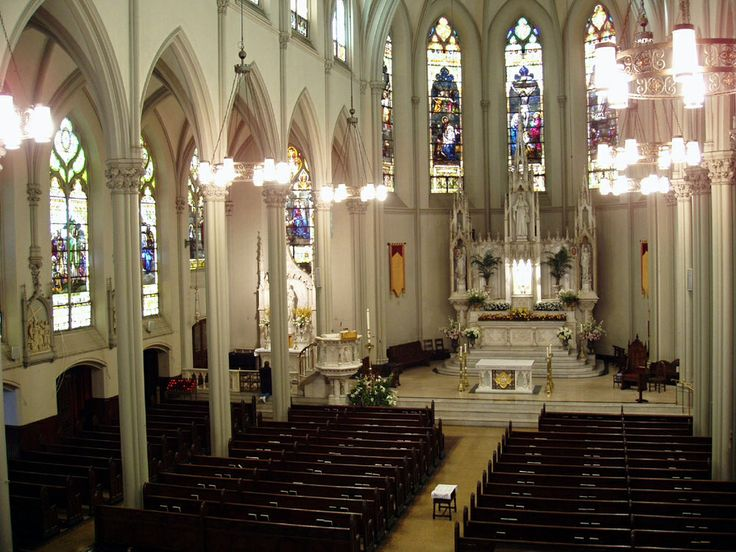 St. Monica Catholic Church, NYC.