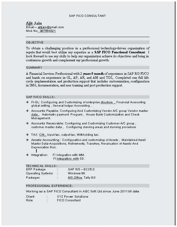 Resume Format For 9 Year Experience Resume Templates In 2020 Resume Format Resume Resume Format In Word