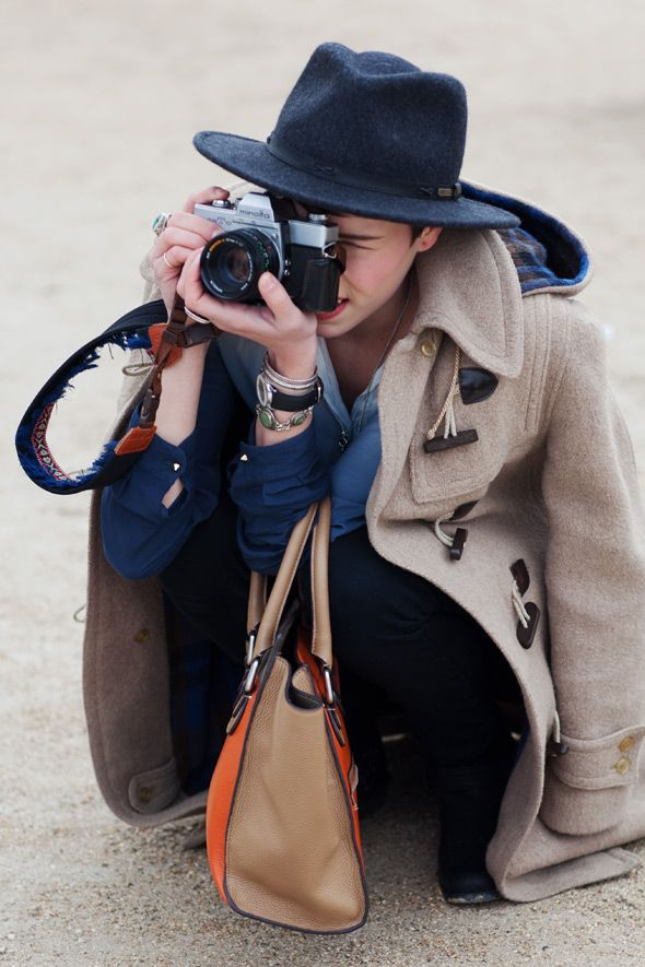 On The Street… Les Tuileries, ParisHats, Paris, Thesartorialist, Fashion, Street Style, Outfit, The Sartorialist, Coats, Cameras Straps