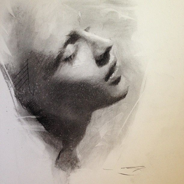 sketch by Casey Baugh