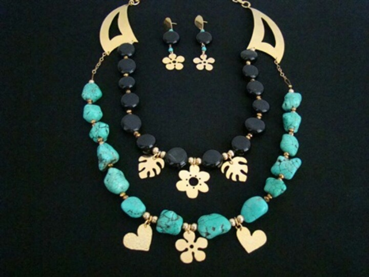 Onix & Turquoise. #jewerly #fashionphotography #glamour #forsale