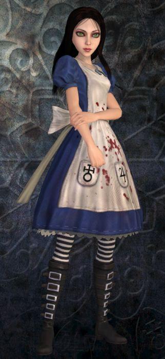 Der Amerikaner McGee ist Alice. Willst du dies ein Jahr für Halloween tun.