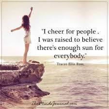 Image result for i cheer for people. i was raised to believe