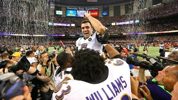 Feb. 3 Matthew Emmons/USA TODAY Sports  Make no mistake about it: The Ravens won their second Super Bowl because of Joe Flacco.