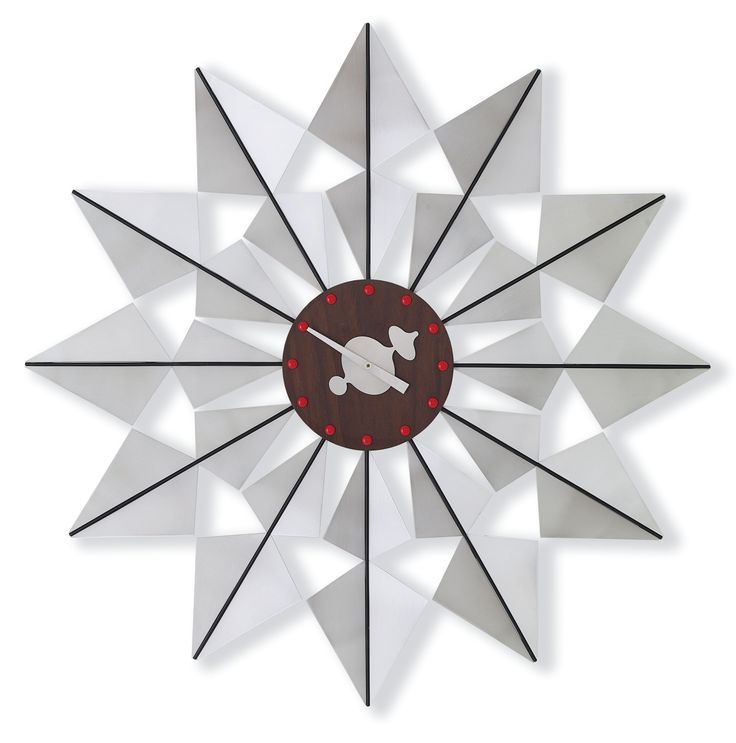 Wall Clock: Flock of Butterflies by Vitra, design: George Nelson
