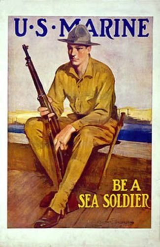 Vintage-USMC-Recruiting-Poster-Be-a-Sea-Soldier