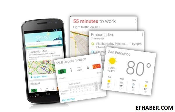 Google Now  Uygulaması Türkiyede Kullanıma Açıldı.