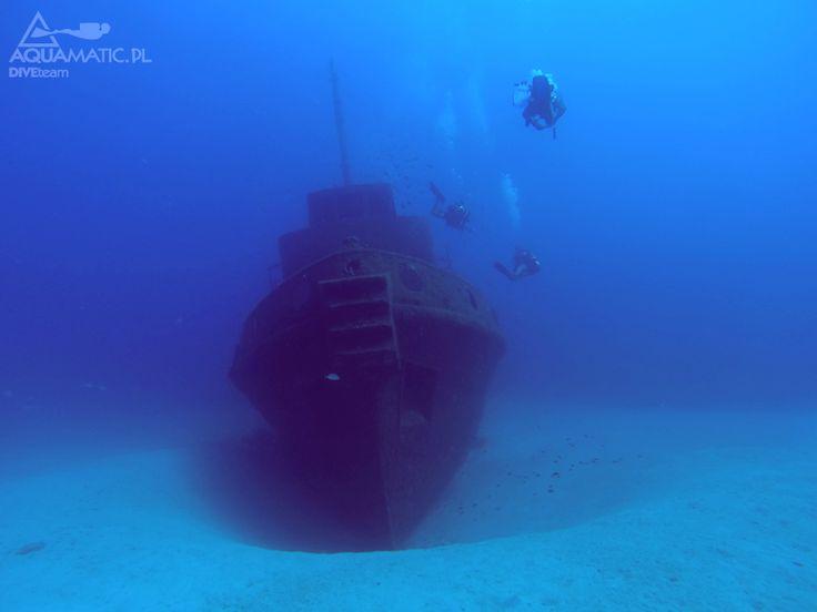 Nurkowanie wrakowe ok0olice GOZO. Malta. Piękne i niezapomniane przeżycie http://aquamatic.pl/wyjazdy/malta