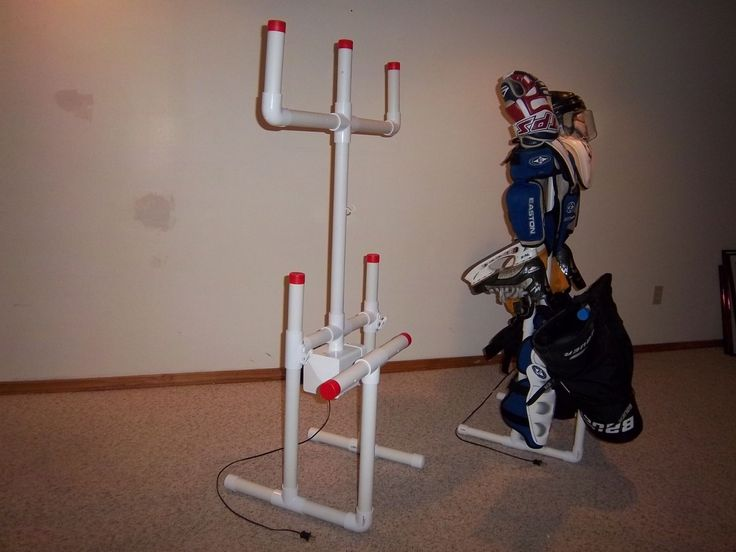 Sports Equipment Hockey Drying Rack Tree with Free Attachments | eBay