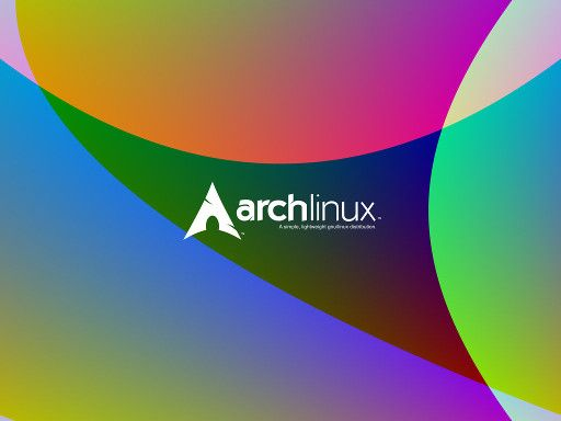 Colorful ArchLinux Wallpaper 4