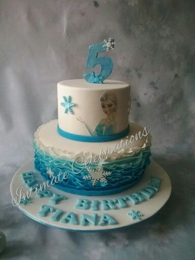 My take on  a popular frozen cake