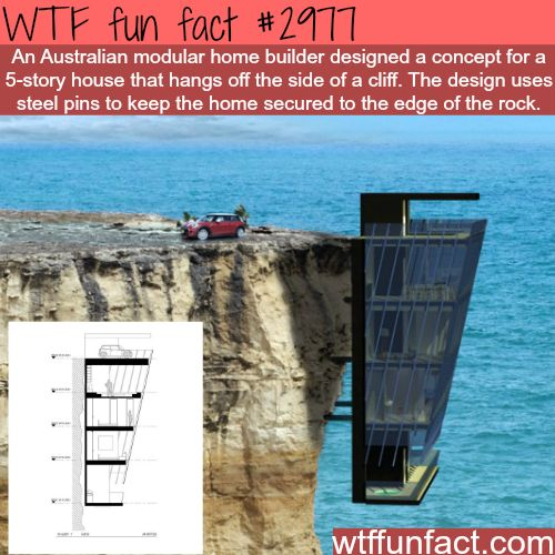 Scariest home placement in the world -  WTF fun facts