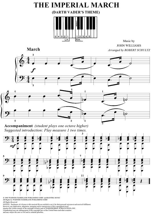 1000+ ideas about The Imperial March on Pinterest | Sheet Music ...