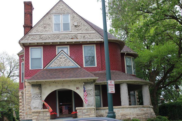 Eastern Avenue victorian mansion in Joliet, Illinois