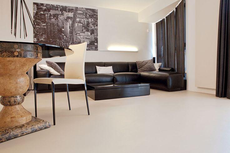 Ambiente residenziale realizzato con ECOMALTA Oltremateria http://www.marocchidesign.it/marocchihabitat/superfici
