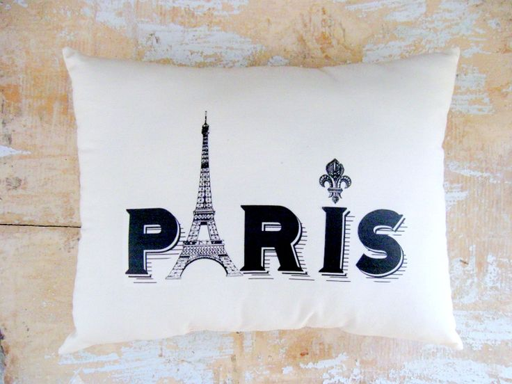 paris pillow eiffel tower french paris bedroomparis theme - Eiffel Tower Decor For Bedroom