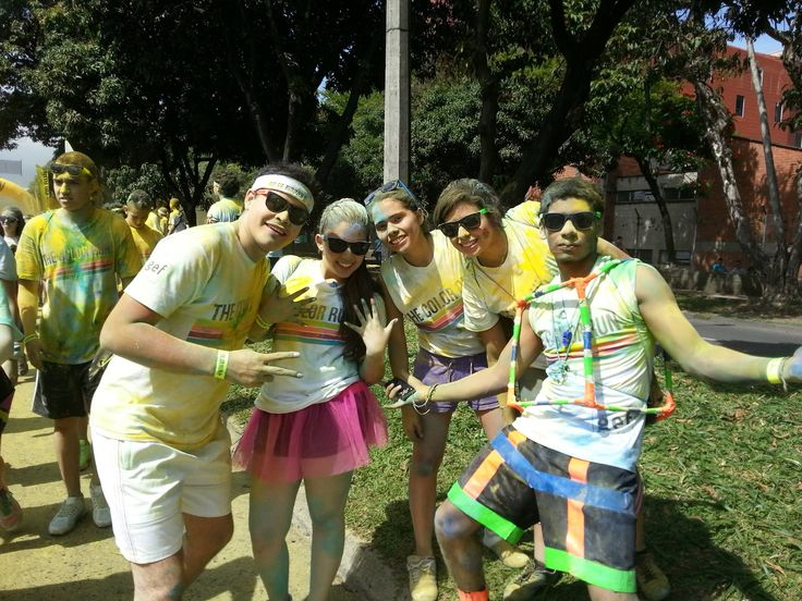 The Color Run - Happy people...