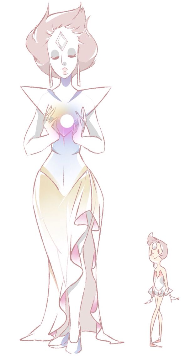 That 39 s a great idea then white diamond gives jer pearl to for White pearl