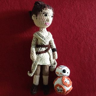 Rey Amigurumi Star Wars : Les 114 meilleures images ? propos de Star Wars Knitting ...