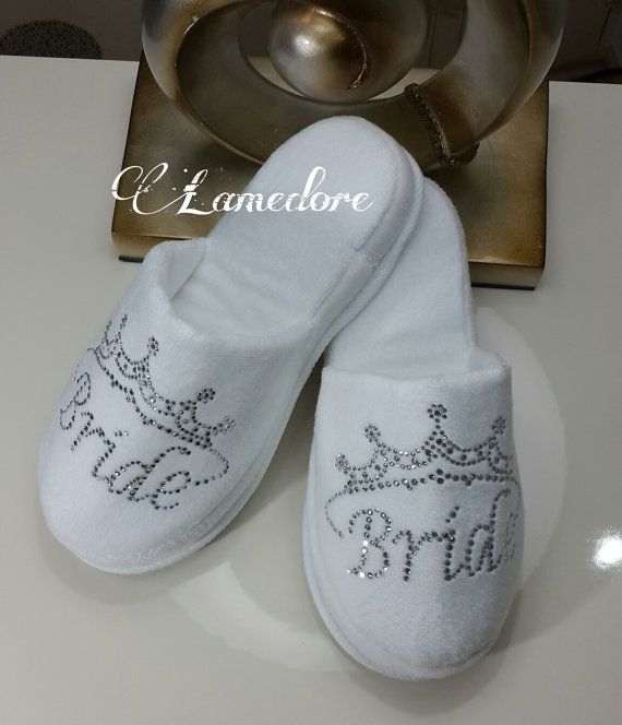 Hey, I found this really awesome Etsy listing at https://www.etsy.com/listing/225302443/brides-wedding-slippers-honeymoon