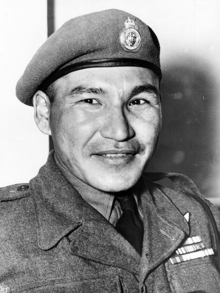 "Thomas George ""Tommy"" Prince 1915-1977 Canada's most decorated Aboriginal soldier in the Second World War,"
