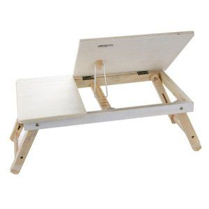 Amazon.com: Foldable Wooden Portable Laptop Table Bed Stand Book Tray Notebook Computer Desk: Office Products