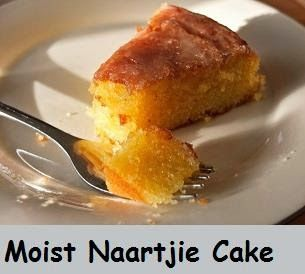 In en om die huis: Moist Naartjie Cake