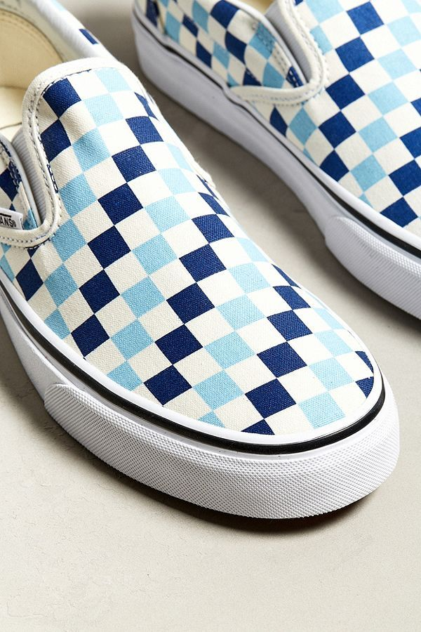 b4f515329e14 Slide View  2  Vans Slip-On Checkerboard Sneaker