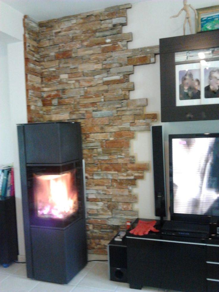 poele montana brisach installé et en chauffe!!!