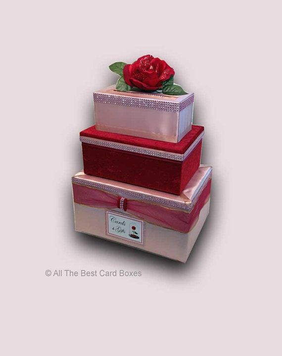 Beauty And The Beast Weddingcard Box With Slotwedding Card Box