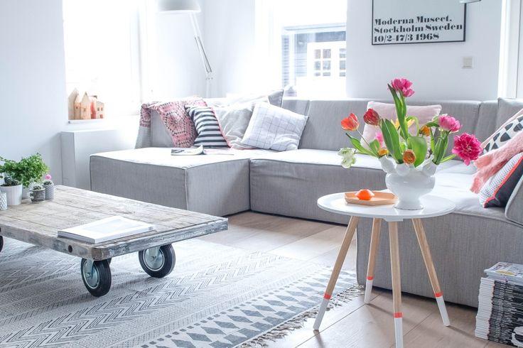 stylish fresh living room idea