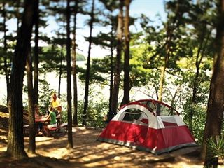 tent camping in northern wisconsin