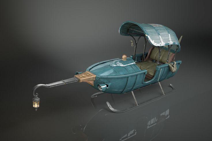 Vehicle fanart, Sandra Castela on Artstation at https://www.artstation.com/artwork/92e0L