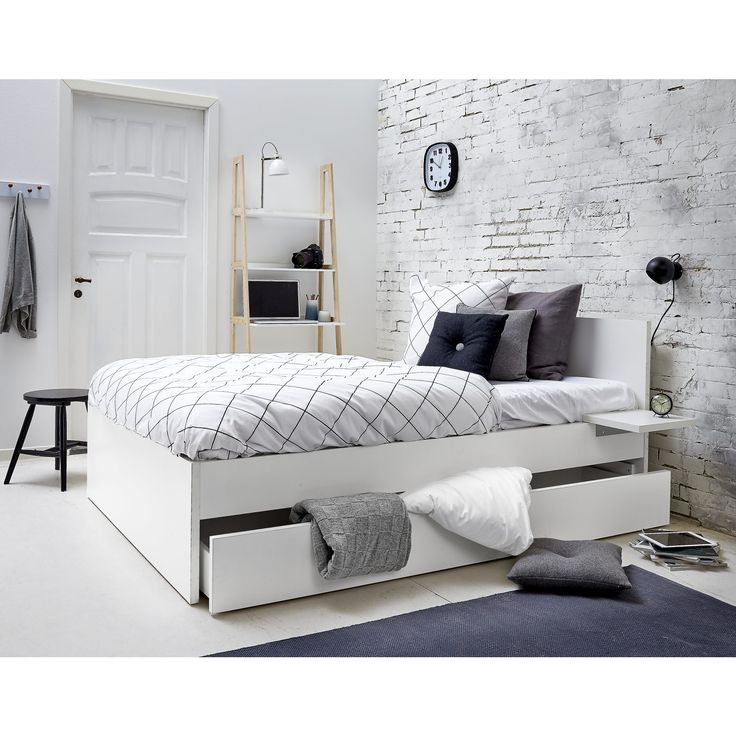 17 best images about seng on pinterest grey room sats - Ikea malm letto ...