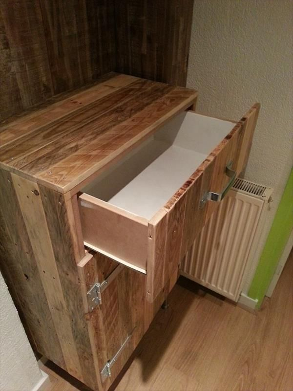Storage Cabinets Made Out of Pallets   101 Pallets