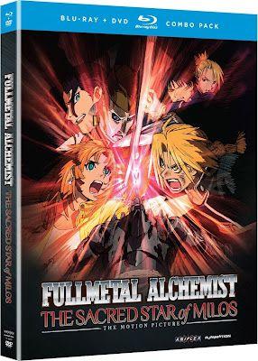 Fullmetal Alchemist: The Sacred Star of Milos (2011) 720p BDRip SUBS ESPAÑOL #FMA #FullmetalAlchemist