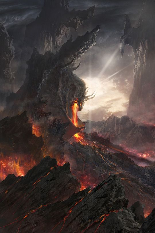 Pyroclastic, magma, or volcano dragon | D&D Campaign ...
